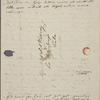 [Peabody, Elizabeth Palmer,] mother, ALS to MTPM & SAPH. Mar. 29, 1834.