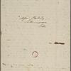 [Peabody, Elizabeth Palmer,] mother, ALS to MTPM & SAPH. Jul. 25, 1834.