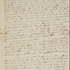 [Peabody, Elizabeth Palmer,] mother, ALS to MTPM. Aug. [10?]-11, 1834.