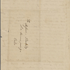 [Peabody, Elizabeth Palmer,] mother, ALS to MTPM and SAPH. Feb. 23, 1835.