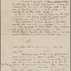 Bright, H[enry] A., ALS, to Julian Hawthorne. Oct. 26, 1883. With a leaf of the holograph notes relating to Nathaniel Hawthorne, which Bright enclosed for Julian Hawthorne's projected life of his father.