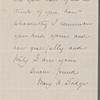 Dodge, Mary Abigail, ALS, to SAPH. Jan. 11, 1867.