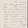 Fields, J. T., ALS, to SAPH.  Aug. 2, 1866.