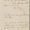 F[ields], J. T., ALS, to SAPH.  [1866?]