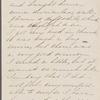 Hawthorne, Una, ALS to SAPH. Apr. 10, 1857.
