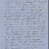 [Mann], Mary [Tyler Peabody], ALS to, with ALS from Una Hawthorne. Sep. 30, 1855.