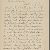 Hillard, George S., ALS to SAPH. Mar. 7, 1865.
