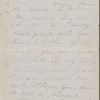 Lathrop, Rose Hawthorne, ALS to Una Hawthorne, sister. Jul. 22, 1863. Postscript ALS by SAPH.