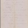 Lathrop, Rose Hawthorne, ALS to Una Hawthorne, sister. Jul. 1863. Postscript ALS by SAPH.