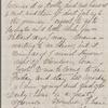 Lathrop, Rose Hawthorne, ALS to Una Hawthorne, sister. Oct. 10, 1866. Postscript by SAPH.