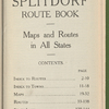 Splitdorf route book: maps and routes in all states
