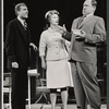 John McMartin, Dody Goodman and Eddie Mayehoff in the stage production A Rainy Day in Newark