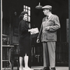 Mary McCarty and Ivor Francis in the stage production A Rainy Day in Newark