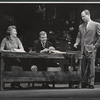 Dody Goodman, John McMartin and Eddie Mayehoff in the stage production A Rainy Day in Newark