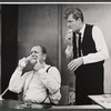Eddie Mayehoff and John McMartin in the stage production A Rainy Day in Newark