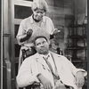 Frances Williams and Ossie Davis in the stage production A Raisin in the Sun