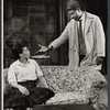 Diana Sands and Ossie Davis in the stage production A Raisin in the Sun