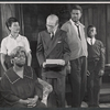 Frances Williams, Diana Sands, John Fiedler, Ossie Davis, and Charles Richardson in the stage production A Raisin in the Sun