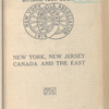 Scarborough's official tour book, New York, New Jersey, Canada and the East