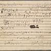 "Sketches for the ""Archduke"" trio, op. 97: Scherzo, and Andante cantabile"