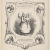 The favourite American polka as danced by Mlle Pauline Desjardins and Mons. Gabriel de Corponay.