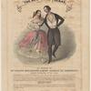 New York Polkas, as danced by Mlle. Pauline Desjardins & Mons. Gabriel de Korponay. Lith. of Lewis & Brown