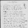 [Loving ballad of] Lord Bateman. Ms. copy in George Cruikshank's, or possibly in Mrs. Cruikshank's, hand