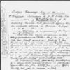 Memoranda [to W. H. Wills]. Holograph