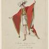 Ataliba König von Quito im Ballet die Inkas getanzt von H. Corally.