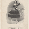 The cachucha as danced by Celeste wit [sic] Une valse sentimentale.