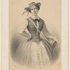 Mme. Fanny Cerrito (St. Léon) (rôle de la Vivandière).