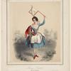 Fanny Cerrito dans La vivandière. Haguental lith