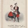 No. 1, The original Redowa waltz...by Jullien. [Lithograph] J. Brandard. M. & N. Hanhart, Chromo Lithrs