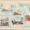 Set design for stage production Company: early version