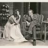 Katharine Hepburn and Van Heflin in the stage production Philadelphia Story