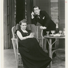 Shirley Booth and Dan Tobin in the stage production Philadelphia Story.