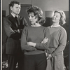 Barry Nelson, Betsy von Furstenberg and Barbara Bel Geddes in rehearsal for the stage production Mary, Mary