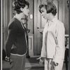 Ellen Weston and Diana Lynn in the stage production Mary, Mary