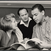 Anne Jackson, Eli Wallach and Alan Arkin in rehearsal for the Broadway production of Luv