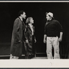 Alan Arkin, Anne Jackson and Eli Wallach in the Broadway production of Luv