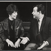 Dorothy Loudon and Tom Bosley from the touring company of the stage production Luv