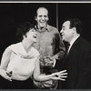 Dorothy Loudon, Herb Edelman and Tom Bosley from the touring company of the stage production Luv