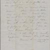 Hawthorne, Nathaniel, ALS to. Jul. 1847.