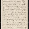 Hawthorne, Nathaniel, ALS to. Sep. 20, Thursday, [1855].