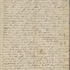 [Peabody,] E[lizabeth Palmer, sister], ALS to SAPH. Aug. 1822.