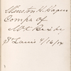 Lowell, Maria White, ALS to SAPH. Jan. 16, 1845.