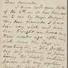 [Brown, Lewis K.], ALS to. Jul. 11, 1864.