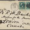Bucke, R[ichard] M[aurice], ALS to. Oct. 23, [1878].