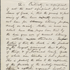 Conway, Moncure Daniel, draft AL to, [Nov. 10, 1867]. In answer to Conway's letter of Oct. 12, [1867?]. Written throughout in WW's hand, but intended to be signed by W. D. O'Connor (who may have written the first draft). Previously dated to [1866?].