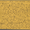 Walt Whitman papers, 1854-1892